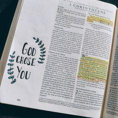 1 Corinthians 1:26-29 Bible Journaling