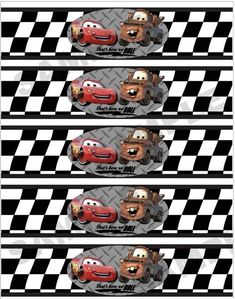 water bottle labels - napkin rings - etc. Car Themed Parties, Cars Birthday Parties, Boy Birthday, Auto Party, Festa Hot Wheels, Disney Cars Party, Disney Cars Cupcakes, Cars Birthday Invitations, Car Themes