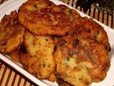 Houbové placičky No Salt Recipes, Cooking Recipes, Tandoori Chicken, Ham, Cauliflower, Mashed Potatoes, Stuffed Mushrooms, Food And Drink, Low Carb