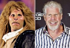 Beauty and the Beast Ron Perlman | Photo Gallery: TV Transformations: Beauties behind the beasts