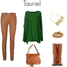 """""""Tauriel"""" by evalupin on Polyvore"""