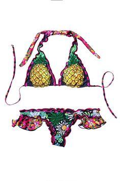 Agua Bendita 2015 'Bendito Tamarindo' Bikini | Orchid Boutique