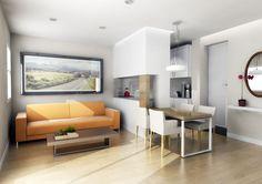 Diseños de Sala Comedor y Cocina. Aquí encontrarás ideas para diseñar en un solo espacio tres ambientes: una sala, un comedor y una cocina...