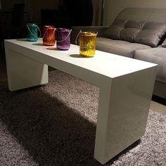 Mesa Centro Tulipa 120x40x53h (consulte opção puffs para esta mesa)