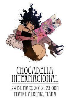Chocadelia Internacional. Tiana, 2012. After Paul Pope.
