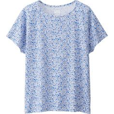LIBERTY LONDON FOR UNIQLO T-SHIRT MANCHES COURTES FEMME