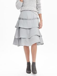 a classic a line skirt with fun stripes | Wear to Work | Pinterest ...
