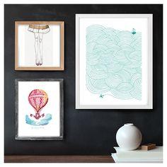 My Art Wall Inspiration Board, curated by gina at Minted
