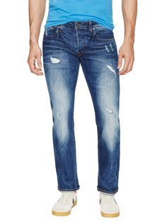 Attac Slim Straight Fit Jeans from Slim-Fit Jeans on Gilt
