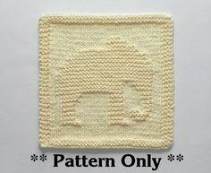 ELEPHANT Knit PATTERN Instant Download Knit par AuntSusansCloset                                                                                                                                                                                 Plus