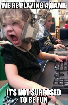 Little girls and computer video games