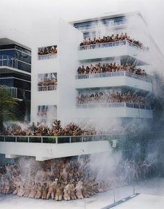 Miami Beach 1 (Sagamore Hotel) photo by Spencer Tunick, 2007