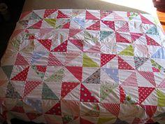 pinwheel quilt :) | Flickr - Photo Sharing!