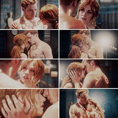 """#Shadowhunters 2x19 """"Hail and Farewell"""" - Jace and Clary"""