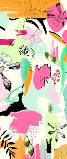 winter garden floral - irina muñoz clares | fashion graphics + illustration