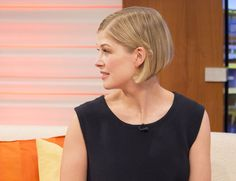 Rosamund Pike Bob Hair and Hairstyles: Gone Girl Beauty | Grazia Beauty
