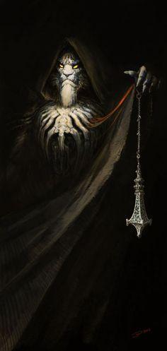 Evil Lion Priest by: Vitaly Smyk