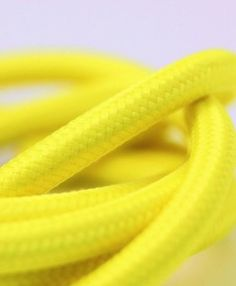 Sunshine yellow smooth fabric cable is an energetic colour statement to add to your rooms lighting.