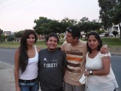 Gentian, Mauricio, Izerguil y Brenda.