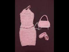 Bolsinha para Barbie / crochê - LiiArt - YouTube