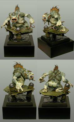 U.K. 2010 - Monstre Warhammer - Demon Winner, le site non officiel du Golden Demon