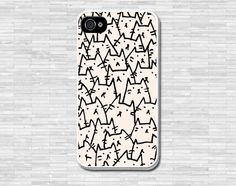 Because Cats phone case iPhone 4 4S iPhone 5 5S 5C por coverforu, $5.99