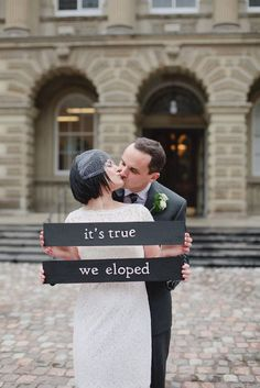 Signs are not only practical but can also significantly add to your wedding decor. We've found 20 wedding signs that we love and wanted to share with you!