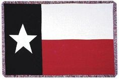 Texas Flag Tapestry Throw Blanket - Visit our website at www.crystalcreekdecor.com for more sizes and selections at great prices!  Also be sure to join our mailing list for upcoming offers, new products and special package deals.