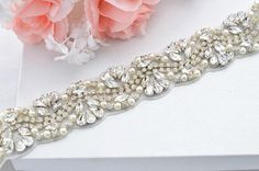 SALE Wedding Belt Bridal Belt Sash Belt Crystal by startrim