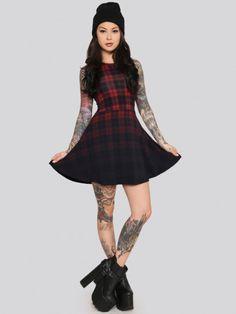 Bad Girl Mini Dress - Gypsy Warrior