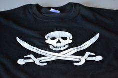 Skull Guns Coins Pirate Men T-shirt XS-5XL New