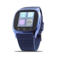 uxcell Sport M26 Sync Phone Calls Anti-lost Smart Watch Blue for IOS Android Smartphones. With pushing message, such as MMS, QQ, Wechat, news title, calendar events, etc. Ring reminder when your Android smart phone receive a message (including Wechat, Facebook, Twitter,WhatsApp, Skype,and so on). Remote android phone camera operation. Anti-lost alarm function: When cellphone left watch alarm automatically, after a certain distance to avoid lose the phones. Android smart watch installed…