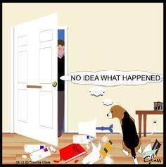 Sleepytown beagles Cartoon Reprints available at: http://www.timglass.com/ArtGallery/ for $12.95