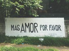 Más Amor Por Favor.❤️