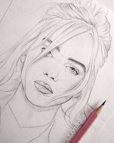 billie eilish drawing A pencil sketch of Billie Eilish Billie Eilish, Pencil Art, Pencil Drawings, How To Drow, Space Drawings, Wallpaper Pc, Art Tips, Love Art, Art Day