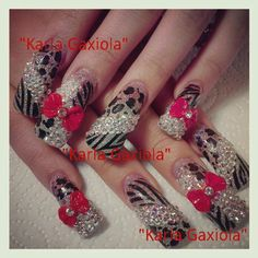 Creative Long Nails Design