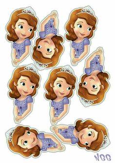 Princess Sofia disney  Cake toppers
