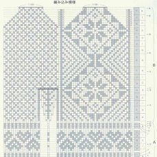 (23) Одноклассники Mittens Pattern, Knit Mittens, Knitting Socks, Mitten Gloves, Knitting Charts, Knitting Stitches, Knitting Needles, Knitting Patterns, Crochet Chart