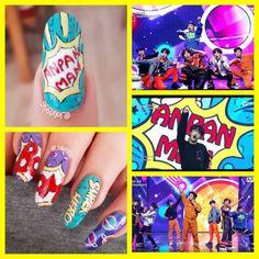 Visit the post for more. Nail Polish Crafts, Nail Polish Designs, Nail Art Designs, Cute Nail Art, Cute Nails, Pretty Nails, Korean Nail Art, Korean Nails, K Pop Nails
