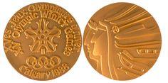 1988 Calgary Winter Winner's Medal, 1988 Calgary Winter Prize Medals
