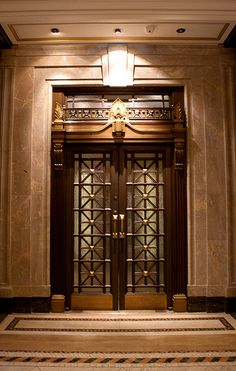 Elegant Elevator | The detailed elevator doors at the Canada… | Flickr