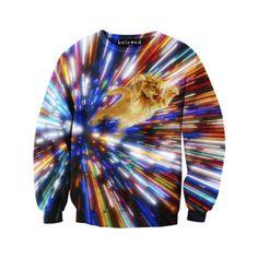 Cat Vortex Sweater Unisex, $59, now featured on Fab.