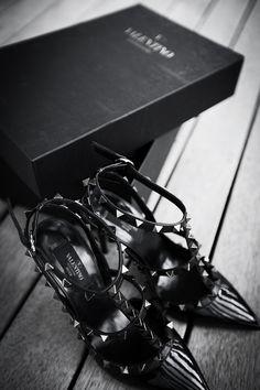 #studs #spikes #straps #heels