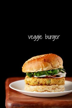 veg burger - delicious homemade veggie burgers recipe with step by step photos.
