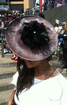 cde043ed367cc The Ornella headpiece by Emma Louise Millinery  Ivory  millinery  Royal  Ascot  fascinators