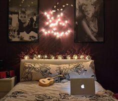 i do believe my bedroom is due for a makeover...Audrey Hepburn bedroom