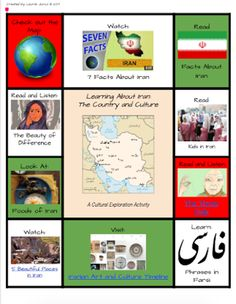 Part 2 in this FREE Refugee Reading Series is a multimedia text set about Iran. Designed for upper elementary and middle school students.