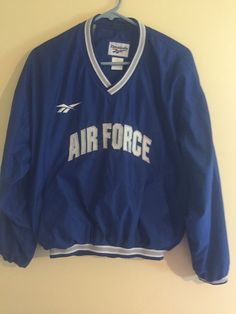 Mens NCAA Air Force Falcons Performance Pull-over Mens M / Medium embroidered #Reebok #AirForceFalcons