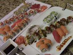How To Make Delicious Sushi At Home (2/3)