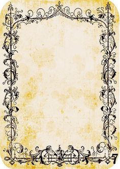 Grimoire of the Modern Witch added a new photo. Backgrounds Wallpapers, Paper Art, Paper Crafts, Borders And Frames, Printable Paper, Printable Frames, Vintage Labels, Book Of Shadows, Paper Background